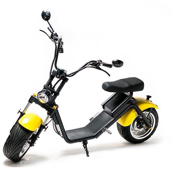 Moped electric FREEWHEEL MotoRo S1, 12 inch, galben