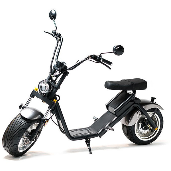 Moped electric FREEWHEEL MotoRo S1, 12 inch, gri