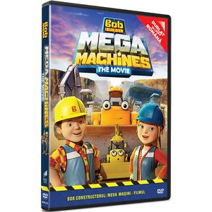 Bob Constructorul: Mega Masini - Filmul DVD