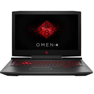 "Laptop Gaming HP Omen 17-an101nq, Intel Core i5-8300H pana la 4.0GHz, 17.3"" Full HD, 8GB, 1TB, NVIDIA GeForce GTX 1050 4GB, Free Dos"