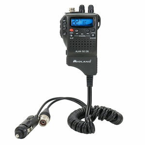 Statie radio CB portabila MIDLAND Alan 52 DS Multi Romania, Squelch Automat Digital