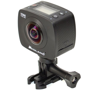 Camera video sport MIDLAND H360, Full HD, Wi-Fi, negru