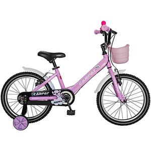 """Bicicleta pentru copii CARPAT C1602C, 16"""", roz-alb"""