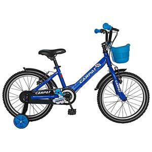 """Bicicleta pentru copii CARPAT C1801C, 18"""", albastru-negru"""