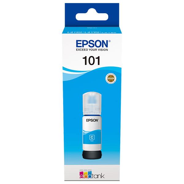 Cerneala EPSON 101 EcoTank/ITS C13T03V24A, cyan