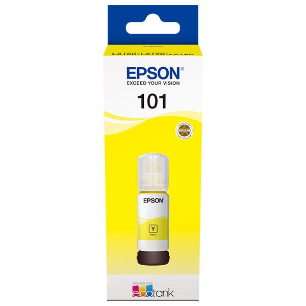 Cerneala EPSON 101 EcoTank/ITS C13T03V44A, galben