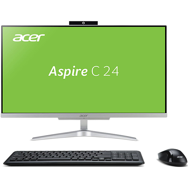 "Sistem PC All in One ACER Aspire C24-865, Intel Core i3-8130U pana la 3.4GHz, 23.8"" Full HD, 4GB, 1TB, Intel UHD Graphics 620, Linux"