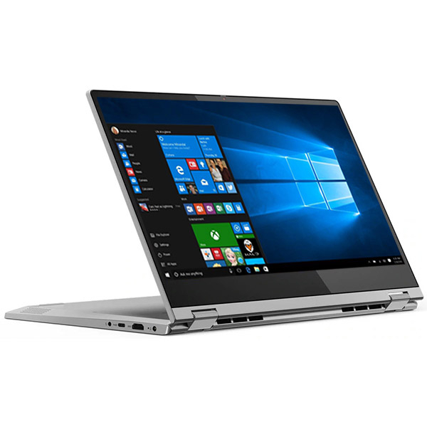 "Laptop 2 in 1 LENOVO IdeaPad C340-14API, AMD Ryzen 3 3200U pana la 3.5GHz, 14"" Full HD Touch, 4GB, SSD 128GB, AMD Radeon Vega 3, Windows 10 Home S, gri"
