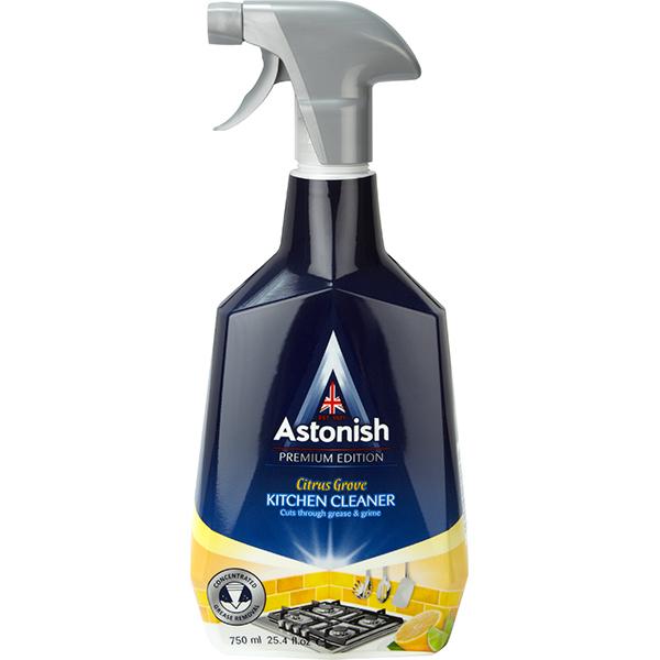 Solutie de curatare aragazuri si hote ASTONISH C6760, 750ml