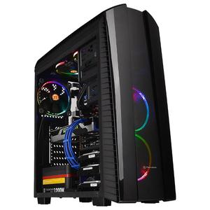 Carcasa THERMALTAKE CA-1H6-00M1WN-00, 2 x USB 2.0, 1 x USB 3.0, negru