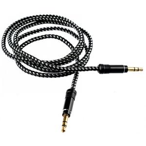 Cablu audio TELLUR TLL311021, Jack 3.5mm, 1m, Negru