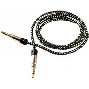 Cablu audio TELLUR TLL311001, Jack 3.5mm, 1m, auriu
