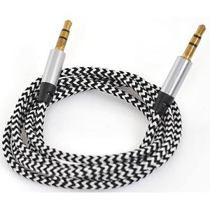 Cablu audio MYRIA MY9037BK, Jack 3.5mm, 1m, negru