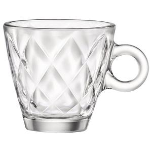 Set cesti espresso BORMIOLI Kaleido 4049240, 12 piese, 0.1l, sticla