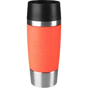 Recipient pentru bauturi TEFAL Travel Mug F2010310, 0.36l, otel, portocaliu