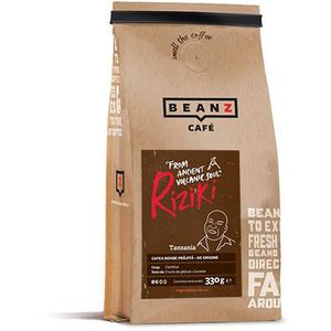 Cafea boabe BEANZ Riziki 100% Arabica, 330g