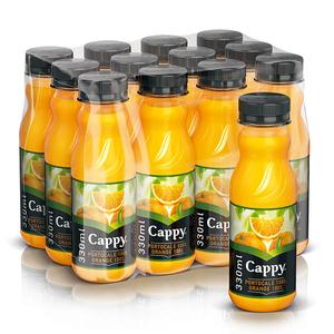 Bautura racoritoare necarbogazoasa CAPPY 100% Portocale bax 0.33L x 12 sticle