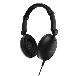 Casti THOMSON HED2307BKNCL, microfon, on ear, cu fir, negru