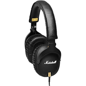 Casti MARSHALL Monitor, Cu Fir, Over-Ear, Microfon, negru