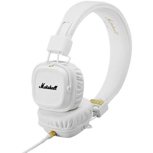 Casti MARSHALL Major II, Cu Fir, On-Ear, Microfon, alb