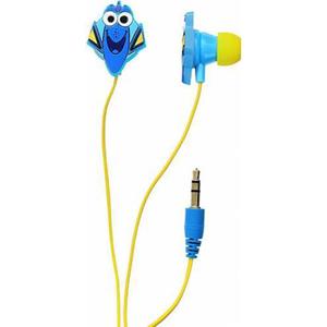 Casti Finding Dory 157498, Cu Fir, In-Ear, albastru/galben