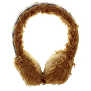Casti Wookie 159840, Cu Fir, On-Ear, maro