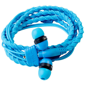 Casti Wraps Classic 159849, Cu Fir, In-Ear, Microfon, albastru
