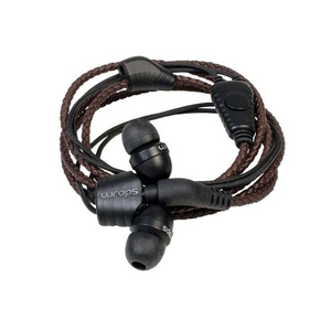 Casti Wraps Natural 159862, Cu Fir, In-Ear, Microfon, maro