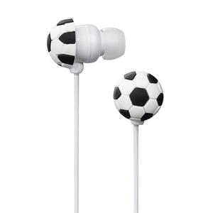 Casti HAMA Soccer K 177023, Cu Fir, In-Ear, alb