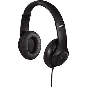 Casti HAMA HK6104 177091, Cu Fir, Over-Ear, Microfon, negru