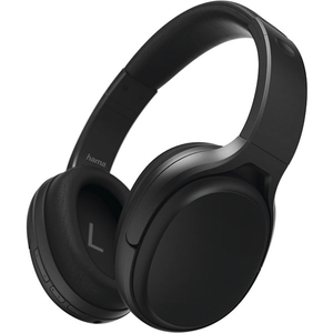 Casti HAMA Tour ANC 184025, Bluetooth, Over-Ear, Microfon, Noise Cancelling, negru