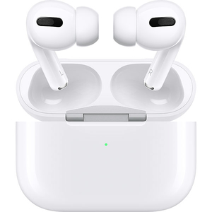 Casti APPLE AirPods Pro, MWP22ZM/A, True Wireless Bluetooth, In-Ear, Microfon, Noise Cancelling, Alb