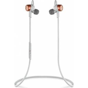 Casti PLANTRONICS BackBeat Go3 Cobalt, Bluetooth, In-Ear, Microfon, gri-portocaliu