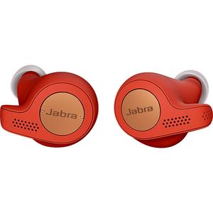 Casti JABRA Elite Active 65T, True Wireless Bluetooth, In-Ear, Microfon, rosu - cupru