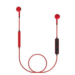 Casti ENERGY SISTEM Earphones 1 ENS428410, Bluetooth, In-Ear, Microfon, rosu