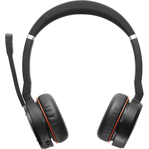 Casti JABRA Evolve 75 UC, Bluetooth, On-Ear, Microfon, Noise Cancelling, negru