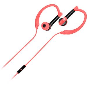 Casti PROMATE Gaudy, Cu Fir, In-ear, Microfon, roz
