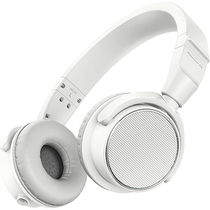 Casti PIONEER DJ HDJ-S7, Cu Fir, On-Ear, alb