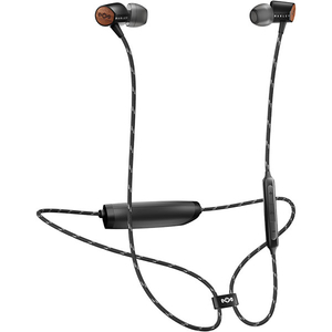 Casti MARLEY Uplift 2, EM-JE103-SB, Bluetooth, In-Ear, Microfon, negru
