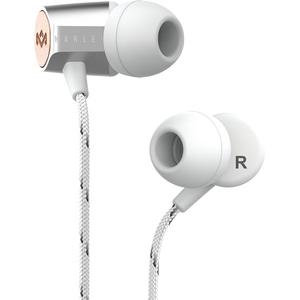 Casti MARLEY Uplift 2.0, EM-JE091-SV, Cu Fir, In-Ear, Microfon, argintiu