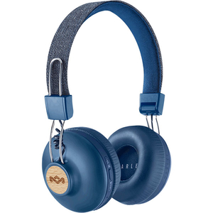 Casti MARLEY Positive Vibration 2, EM-JH133-DN, Bluetooth, On-Ear, Microfon, denim