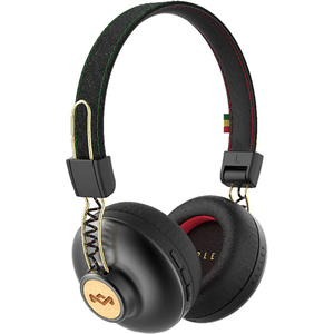 Casti MARLEY Positive Vibration 2, EM-JH133-RA, Bluetooth, On-Ear, Microfon, rasta