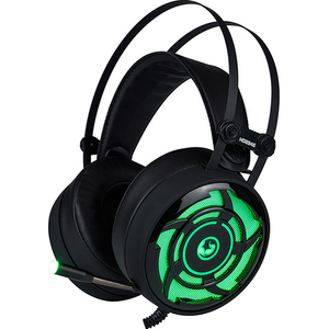 Casti Gaming MARVO HG8946, stereo, USB, 3.5mm, negru-verde