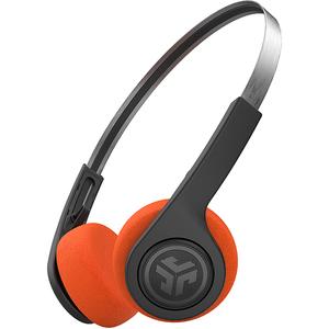 Casti JLAB Rewind Retro, Bluetooth, Over-Ear, Microfon, JLab EQ, negru