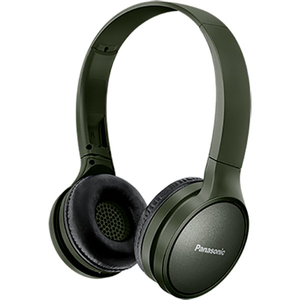 Casti PANASONIC RP-HF410BE, Bluetooth, On-Ear, Microfon, verde