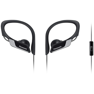 Casti PANASONIC RP-HS35ME-K, Cu Fir, In-Ear, Microfon, negru