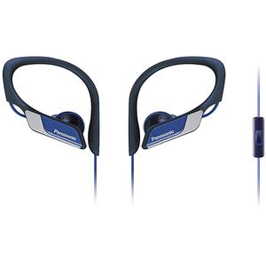Casti PANASONIC RP-HS35ME-A, Cu Fir, In-Ear, Microfon, albastru