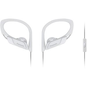 Casti PANASONIC RP-HS35ME-W, Cu Fir, In-Ear, Microfon, alb