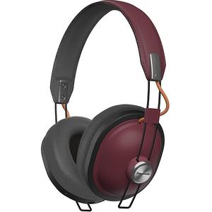 Casti PANASONIC RP-HTX80BE-R, microfon, on ear, bluetooth, grena