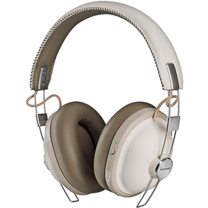 Casti PANASONIC RP-HTX90NE, Bluetooth, On-Ear, Microfon, Noise Cancelling, alb